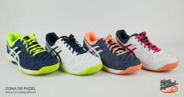 Zapatillas Asics Gel Padel Pro 3 2018 de varios colores