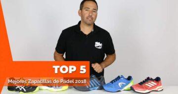 Comparativa: las 5 mejores zapatillas de pádel del 2018
