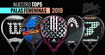 Las mejores palas de pádel de mujer 2019