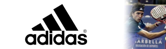 Logo marca Adidas Padel