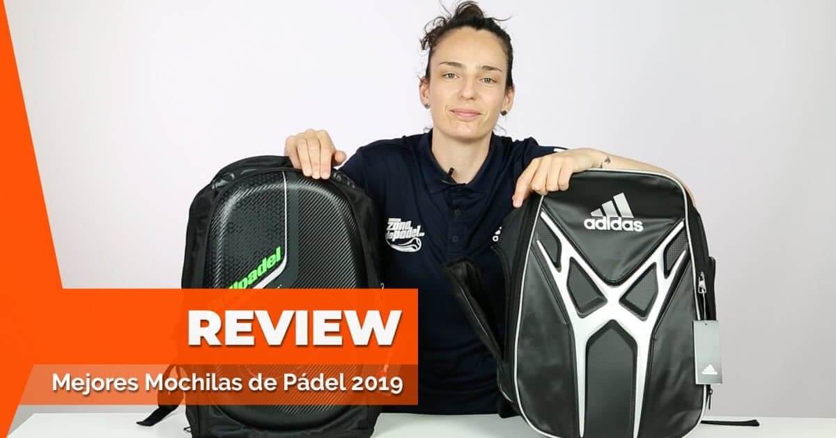 Top de las 5 mejores mochilas de pádel del 2019