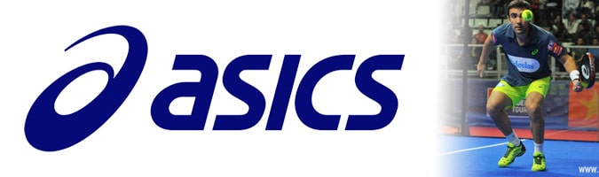 Logo marca Asics Padel