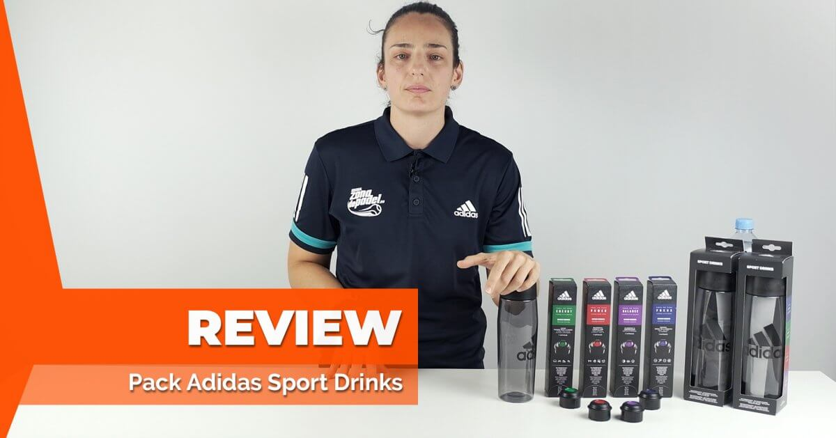 Adidas Sports Drinks, hidratación natural para deportistas