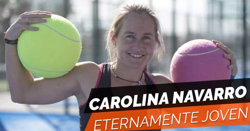 Carolina Navarro, eternamente joven