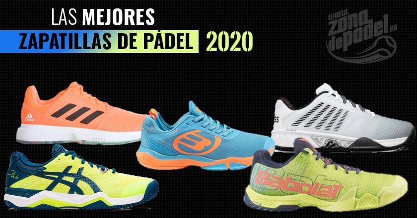Las mejores zapatillas de pádel del 2020