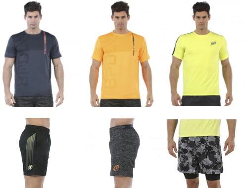 Camisetas y pantalones de nueva colección