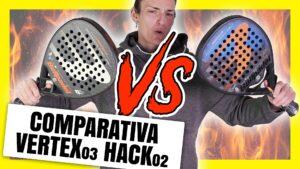 comparativa Bullpadel Vertex Hack