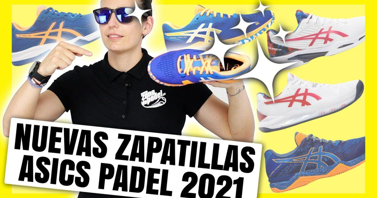 Nueva colección de zapatillas de pádel para hombre Asics 2021 AW
